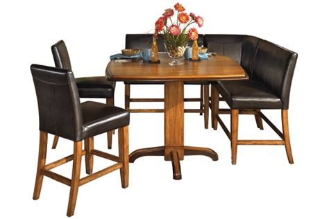 Corner Dining Table And Chairs Booth Seating Dinette For The Home Eat In Kitchen Shore And Wraparound