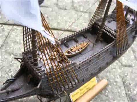 pirate galleon ship model youtube