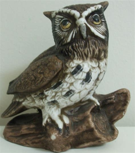 decorative owls homco decorative ceramic owl figurine owls