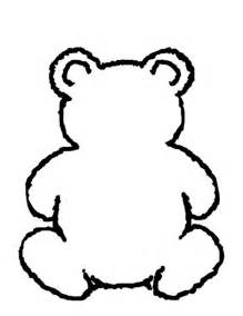 Teddy Outline Images by Teddy Outline Printable Clipart Best