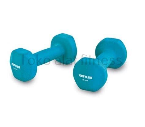 kettler dumbell neoprone 8kg toko alat fitness