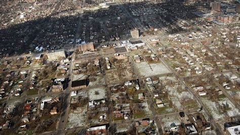 Abandoned Places In Usa by Detroit Files For Bankruptcy