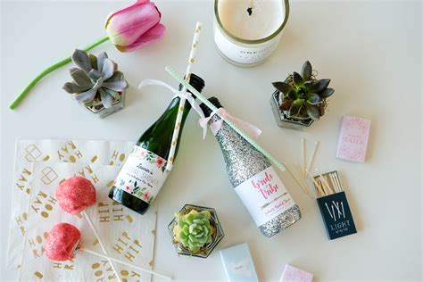 Handmade Bridal Shower Favors - diy bridal shower favors onehope wine
