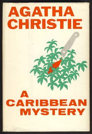 libro a caribbean mystery miss a caribbean mystery agatha christie first us edition