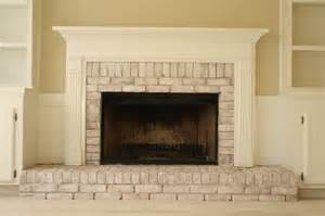 whitewashing brick fireplace pin by herbert on fireplace reno
