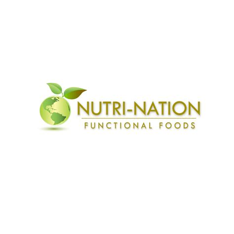 Food Logo Design nutri nation functional foods logo hiretheworld