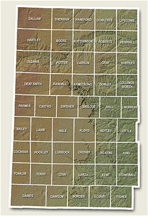 texas panhandle county map images of panhandle of texas county courthouses photograph index texas courthouse trail