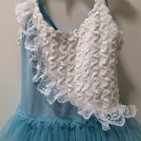 Balet Frozen frozen ballet dress 4 6 yrs from thanhha s closet on