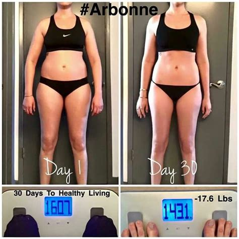 Detox For Healthy Living Spa by Arbonne 30 Days To Healthy Living Before And After Results
