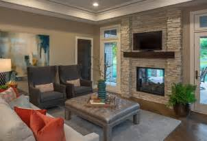 Home Interiors Candles french country walkout modern family room omaha by