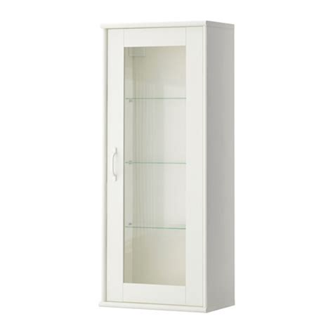 White Glass Cabinet Doors Ikea Glass Door Cabinet White Nazarm