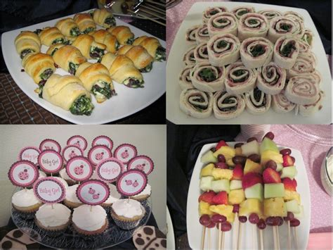 Easy Baby Shower Food Ideas by Baby Shower Food Ideas Baby Shower Foods Easy