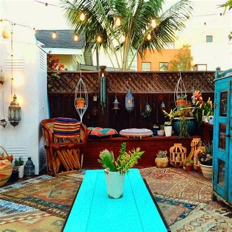 outdoor patio inspiration boho patio inspiration all decor styles themes