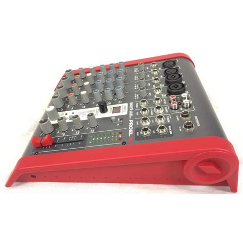 Mixer Audio Proel proel m602fx compact mixer mixer proel