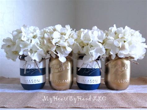 Sailboat Centerpieces Baby Shower by Nautical Baby Shower Centerpiece Navy Blue And White Stripes