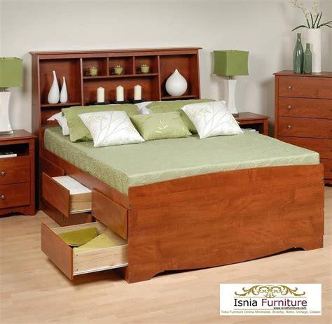harga tempat tidur jati minimalis jual murah model