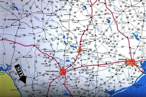 maverick county texas map 445 ac maverick cnty la pryor texas
