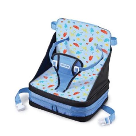 new the years on the go fold up booster seat