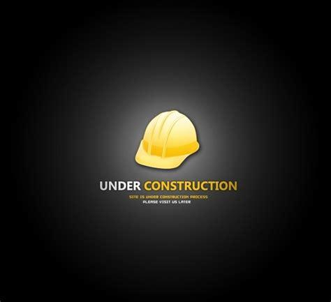 membuat html under construction index html