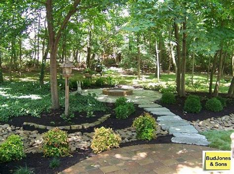 Landscaping Ideas For Large Backyards Backyard Landscaping Ideas In Cincinnati Garden Ideas Pinterest