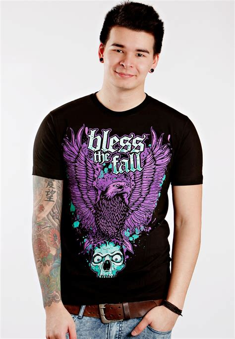 Tshirt Bless The Fall C3 blessthefall eagle t shirt official merchandise