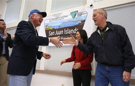 amid publicity tour denies affair with celebration tour of san juan islands national monument