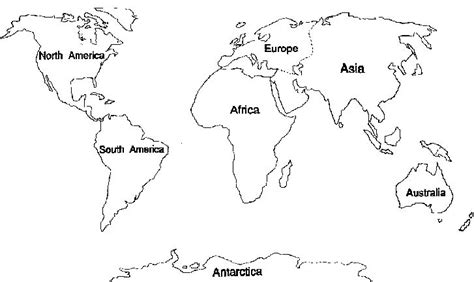 7 Continents Coloring Pages continents coloring pages 7 continents coloring pages