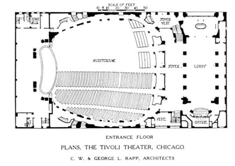 movie theatre floor plan tivoli theatre chicago floor plan cinema treasures