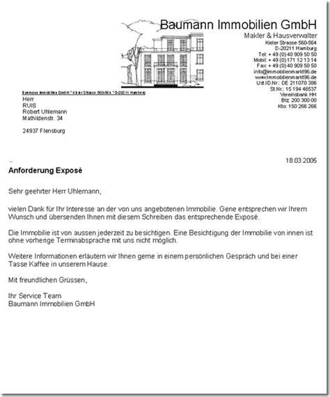 Musterschreiben Angebot Schreiben Offline Immobilien Software Makler Programm App