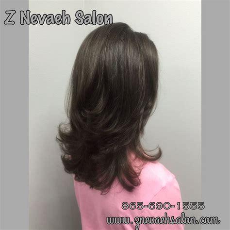 blowout layered hair long layered haircut blowout haircut knoxvillesalon