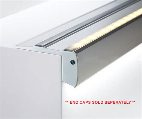 aluminium extrusions for led lighting step extrusion from klus for custom led strip light