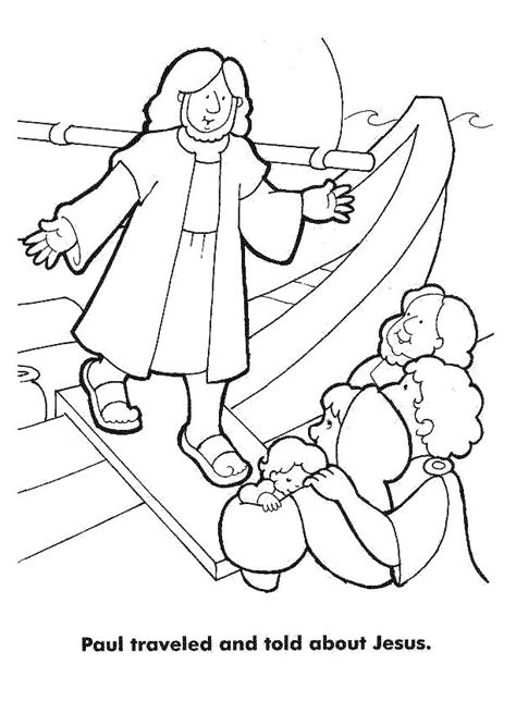Paul And Silas Coloring Pages Az Coloring Pages Paul And Silas Coloring Page