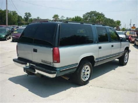 electric and cars manual 1994 chevrolet suburban 1500 on board diagnostic system find used 1994 chevrolet suburban 1500 in 1849 s woodland blvd deland florida united states