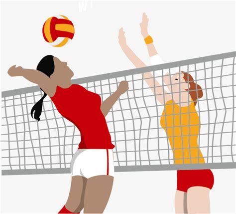 imagenes de minions jugando al voley vector playing volleyball volleyball woman net png and