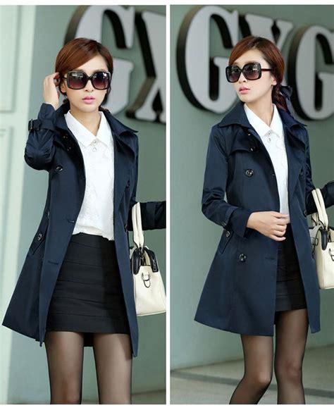 Baju Outer Wanita Adara Jacket Navy Terbaru jaket korea wanita blazer kerja wanita newhairstylesformen2014