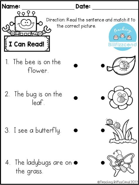 printable games english language learners free reading comprehension activities great for pre k