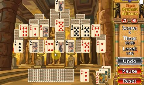 egypt pyramid solitaire game play egypt pyramid solitaire     yaksgames