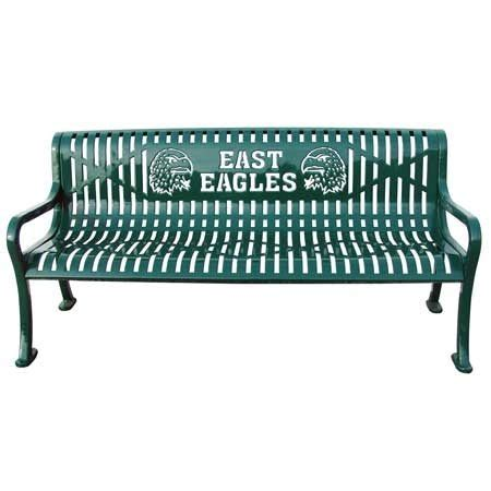 school benches outdoor personalized diamond pattern bench outdoor school furniture