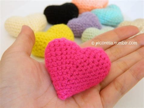 pattern amigurumi heart pdf amigurumi hearts amigurumi hearts pattern