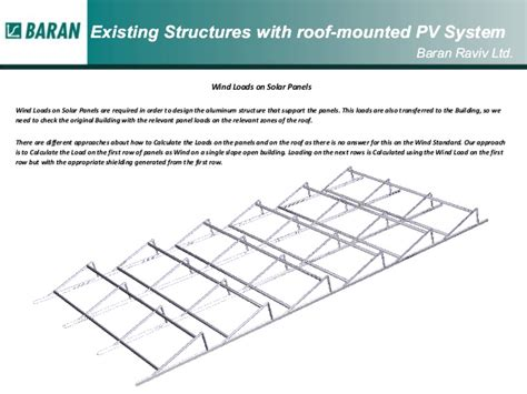 rooftop solar system design wind loads on pv roof top solar installations