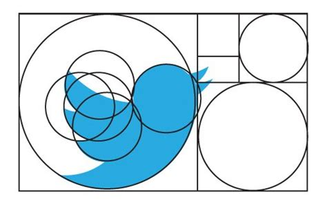 design logo with golden ratio twitter s new logo the geometry and evolution of our