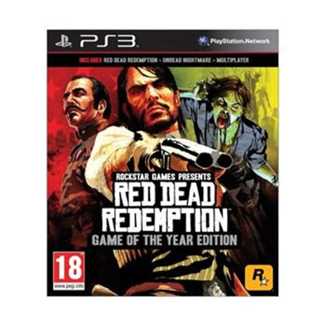 Bd Ps3 Dead Redemption Of The Year Edition dead redemption of the year edition ps3 baz 193 r haszn 225 lt term 233 k