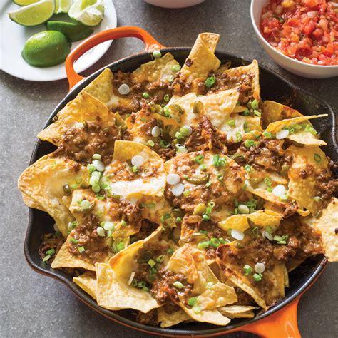 Kitchen Upgrade Ideas cast iron loaded beef nachos america s test kitchen