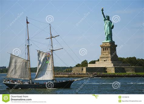 free boat to statue of liberty statue of liberty and boat stock photo image of statue