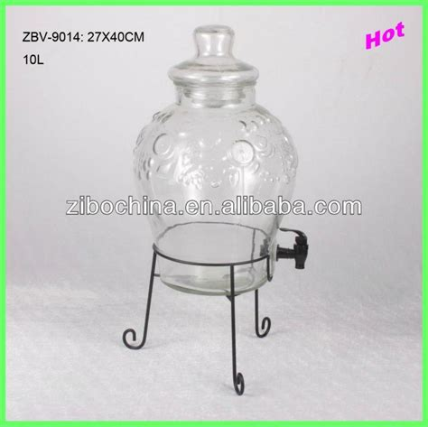 Delvonta Waterjug Dispenser 10l 10l glass beverage dispenser with iron stand zbv 9014 cn china trading company bottle