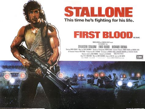 film rambo first blood first blood was there blood mighty1090am
