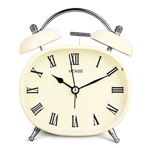 Alarm Clock Rome hense retro vintage mute silent quartz movement bell tabel alarm clock numerals