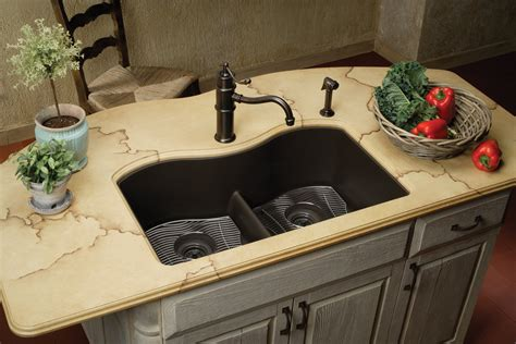 Design Composite Kitchen Sinks Ideas Top 15 Black Kitchen Sink Designs Mostbeautifulthings