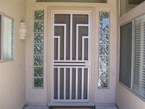 best 25 security screen doors ideas on