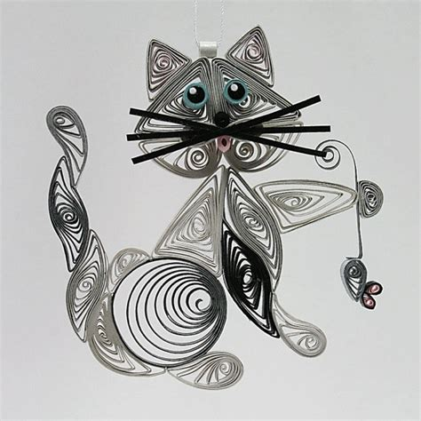 Sty Cat Papercraft - 211 best quilling zwierzeta ptaki motyle images on